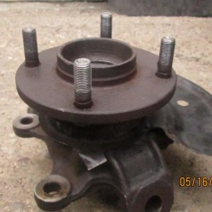 Hub and Steering Knuckle
